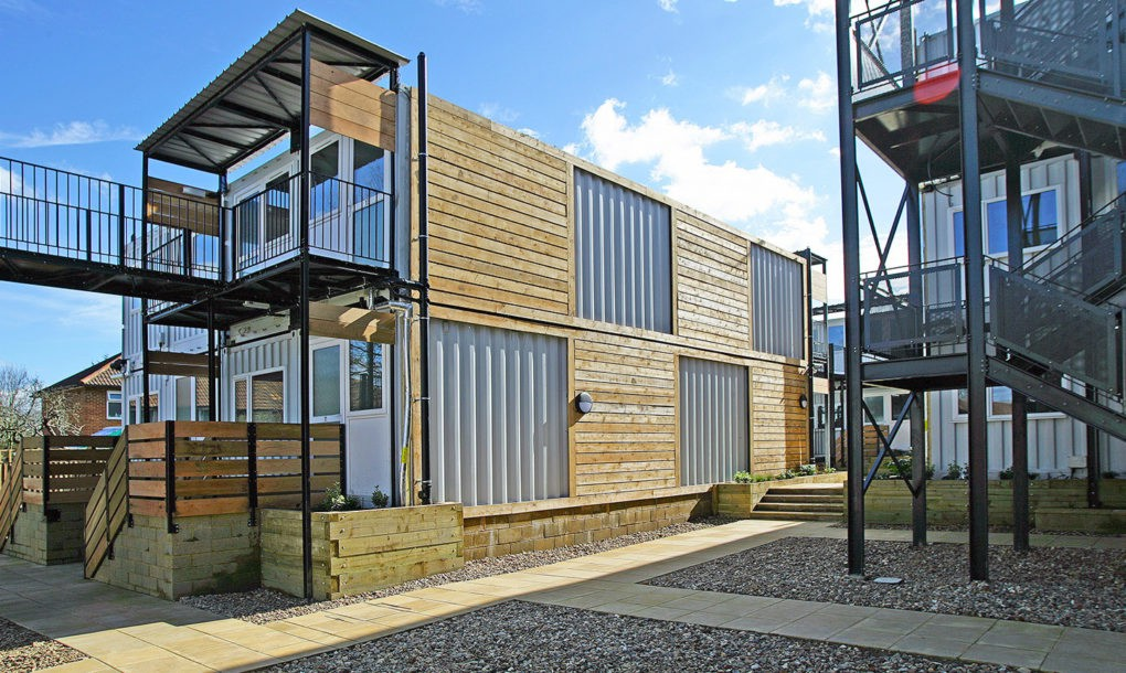Orchard Explores Shipping Container Homes