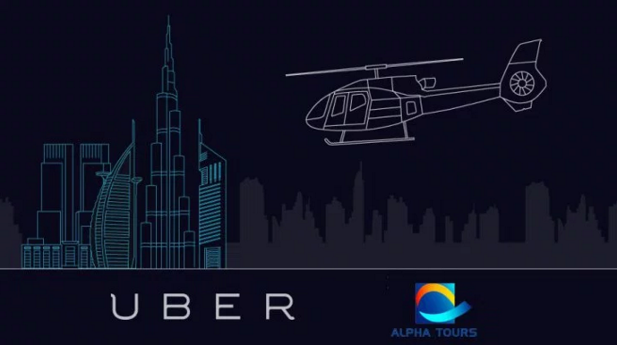 Uber Chopper Takes Off